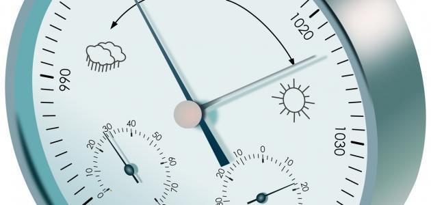 صور جهاز قياس الضغط الجوي , معرفة حالة ضغط الهواء