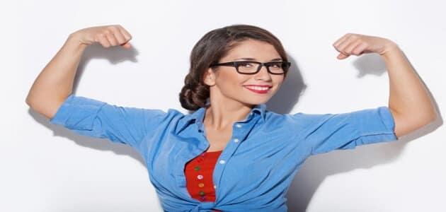 صورة اقوال عن المراة القوية , تكوين شخصية النساء القوية