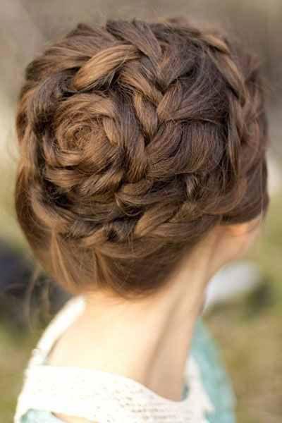 صورة اجمل ضفائر شعر , اشكال لضفائر شعر جديدة