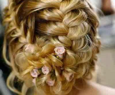 صور اجمل ضفائر شعر , اشكال لضفائر شعر جديدة