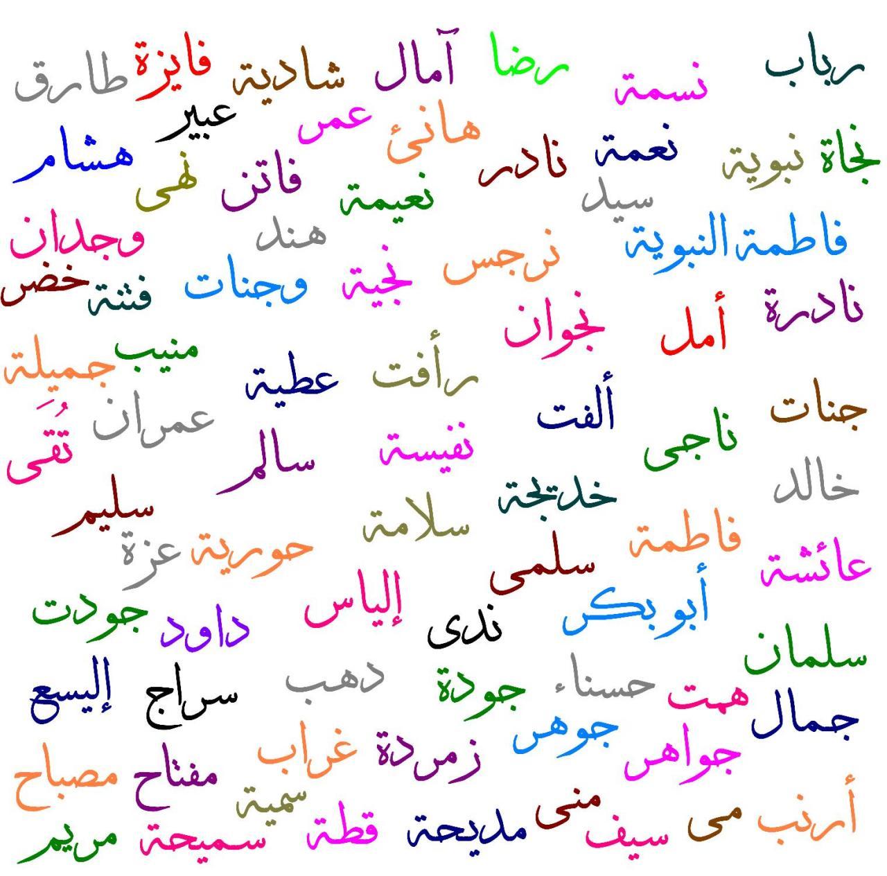 صور اجمل الاسماء العربية للبنات , احلي اسم ممكن تختاري لبنتك