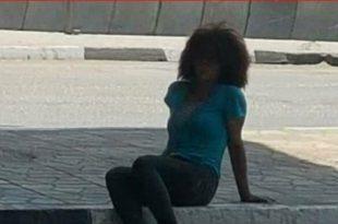 صور فتاة كوبري العباسية , الحرمان و التشردة تتجسد فى صورة فتاة