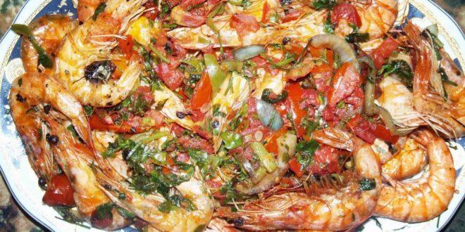 صور طريقة عمل طاجن الجمبرى بقشره , تعرفى على طرق مختلفة لطهى الجمبرى