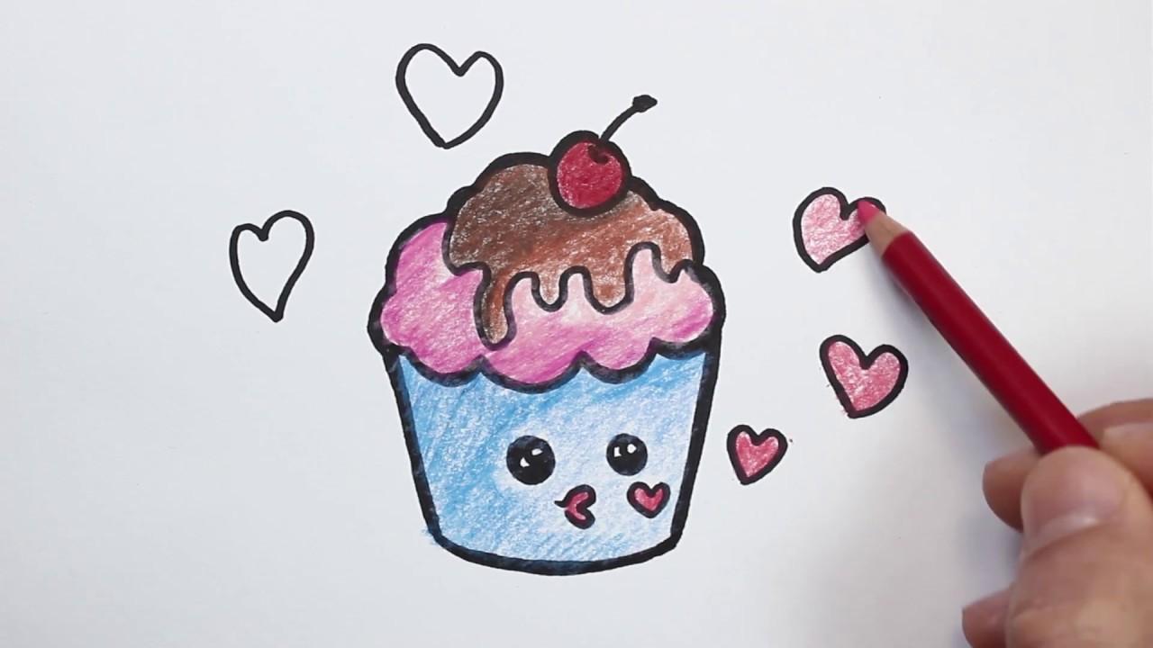 رسم كب كيك احلي رسومات مممكن تشوفها فنجان قهوة