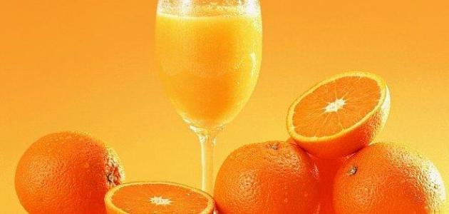 صورة هل عصير البرتقال يزيد الوزن , فوائد شرب البرتقال لمن يعانون النحافه