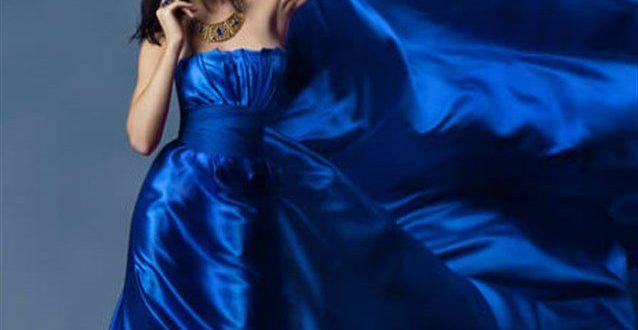 صور تفسير حلم الفستان الازرق , جمال الفستان الازرق فى منامك