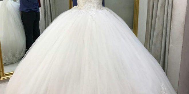 صورة فستان زفاف تركي , موديلات فساتين تركية 2019