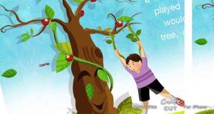 صورة قصة شجرة التفاح , شجره التفاح والطفل الصغير