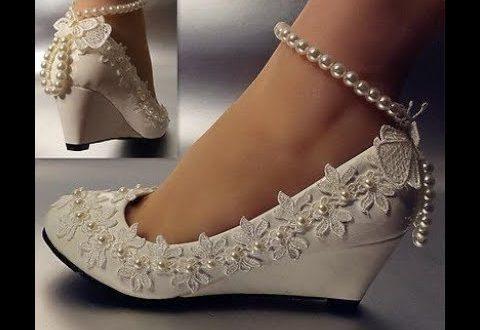 صورة اجمل احذية للعروس , حذاء سندرالا لاجمل ليله فى حياتة