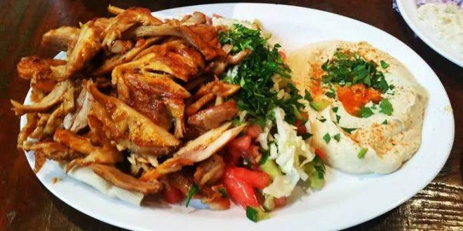 صورة طريقة صينية الشاورما , اجمل اكله سوريه واو