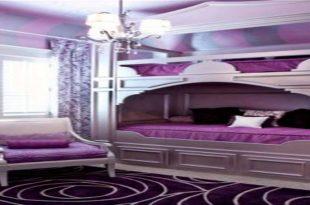 صورة غرف نوم بنفسجية , اكثر الالوان جاذبية في غرف النوم