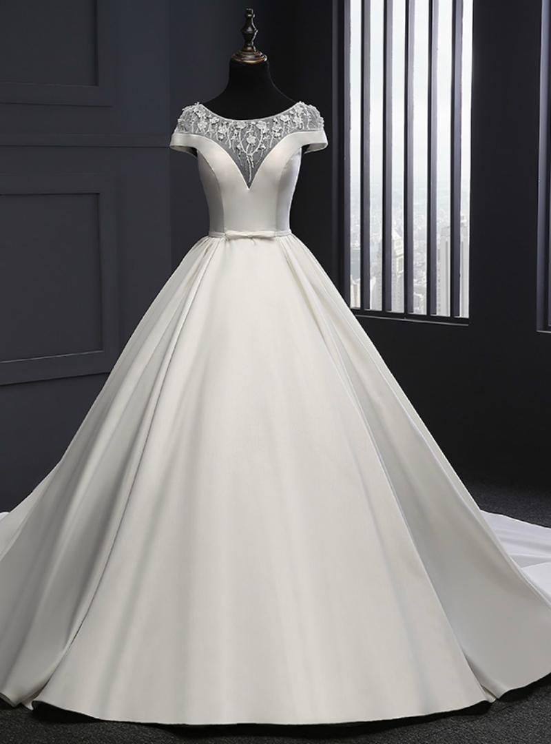 صورة حلمت اني البس فستان زفاف وانا متزوجة , عندما تصبحين عروسة فى الحلم