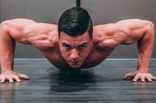 صورة تقوية العضلات في المنزل , كمال اجسام فى البيت