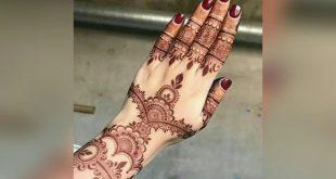 صورة نقش هندي روعه , رسومات الحناء الجذابة تكمل جذبيتك