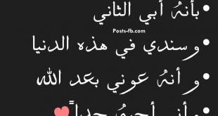 صورة قصيدة عن فراق الاخ , شاهد الاشتياق للاخ بالكلمات