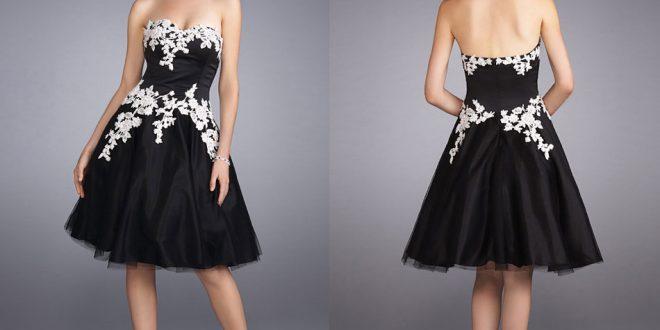 صورة اجمل فستان قصير , اناقتك من الفستان القصير