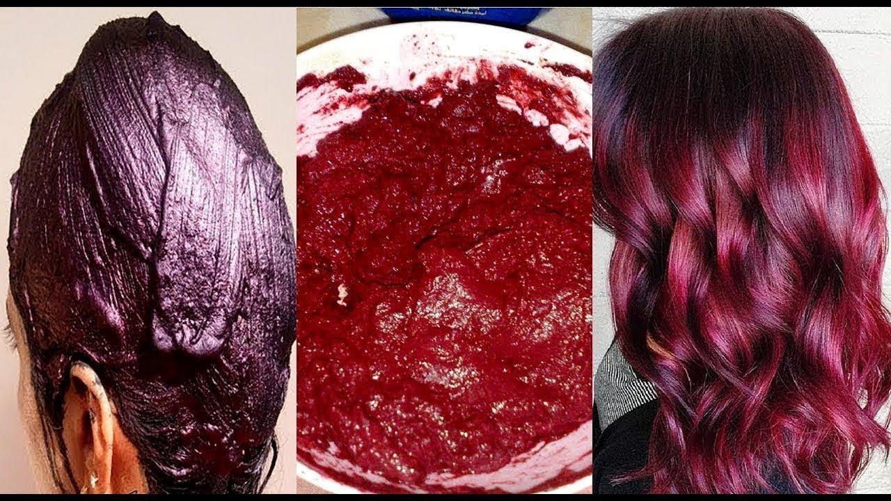 صورة صبغ الشعر طبيعيا بدون حناء , اسهل طريقه لصبغ الشعر طبيعيا