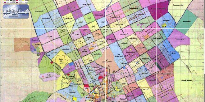 صورة خريطة احياء جده كامله , مدينة من العصر الحجرى