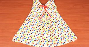 صورة خياطة ملابس اطفال , اشيك فستان لبنتى من ايدى