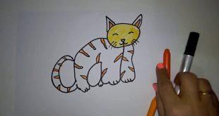 صورة رسومات سهله وجميله , ابسط طريقة لتعليم الرسم